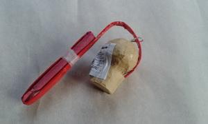 Vrba 50mm  - červená práskající