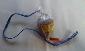Dýmová kulová puma 100mm - červená