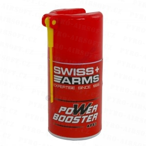 PYRO-AIRSOFT.cz nabízí: Swiss Arms Power Booster olej
